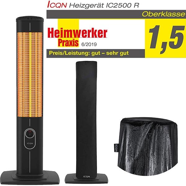 Stand Heizstrahler mit Fernbedienung 2300 Watt – IC2300
