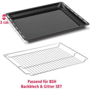 Backblech & Backofengitter Set- ICQN