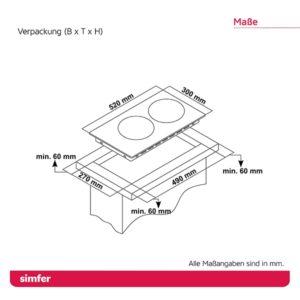 Elektro-Kochfeld SIMFER SMF-BIH 3025