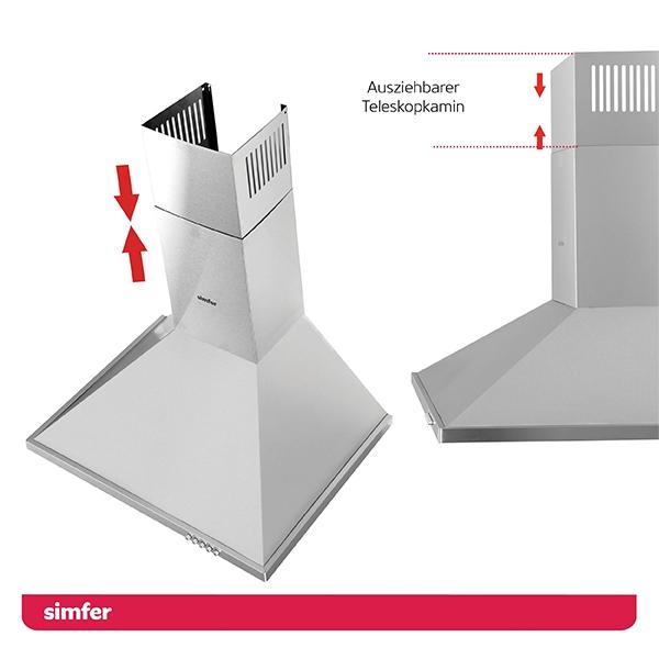 Dunstabzugshaube SIMFER SMF-CH 8652