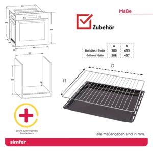Einbau Herd-Set SIMFER SMF-CS 3024
