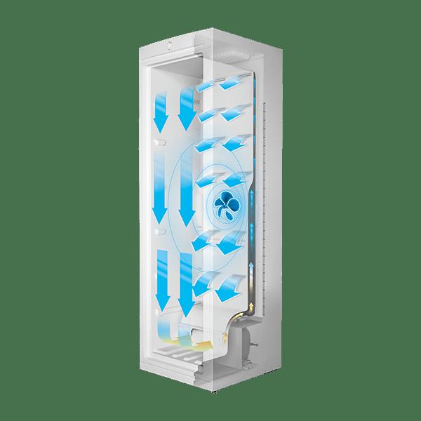 NoFrost Gefrierschrank SIMFER FS 7301 A+